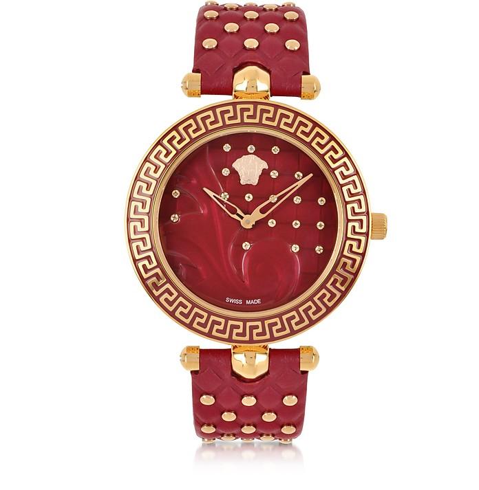 Red Vanitas with Diamonds Women's Watch - Versace