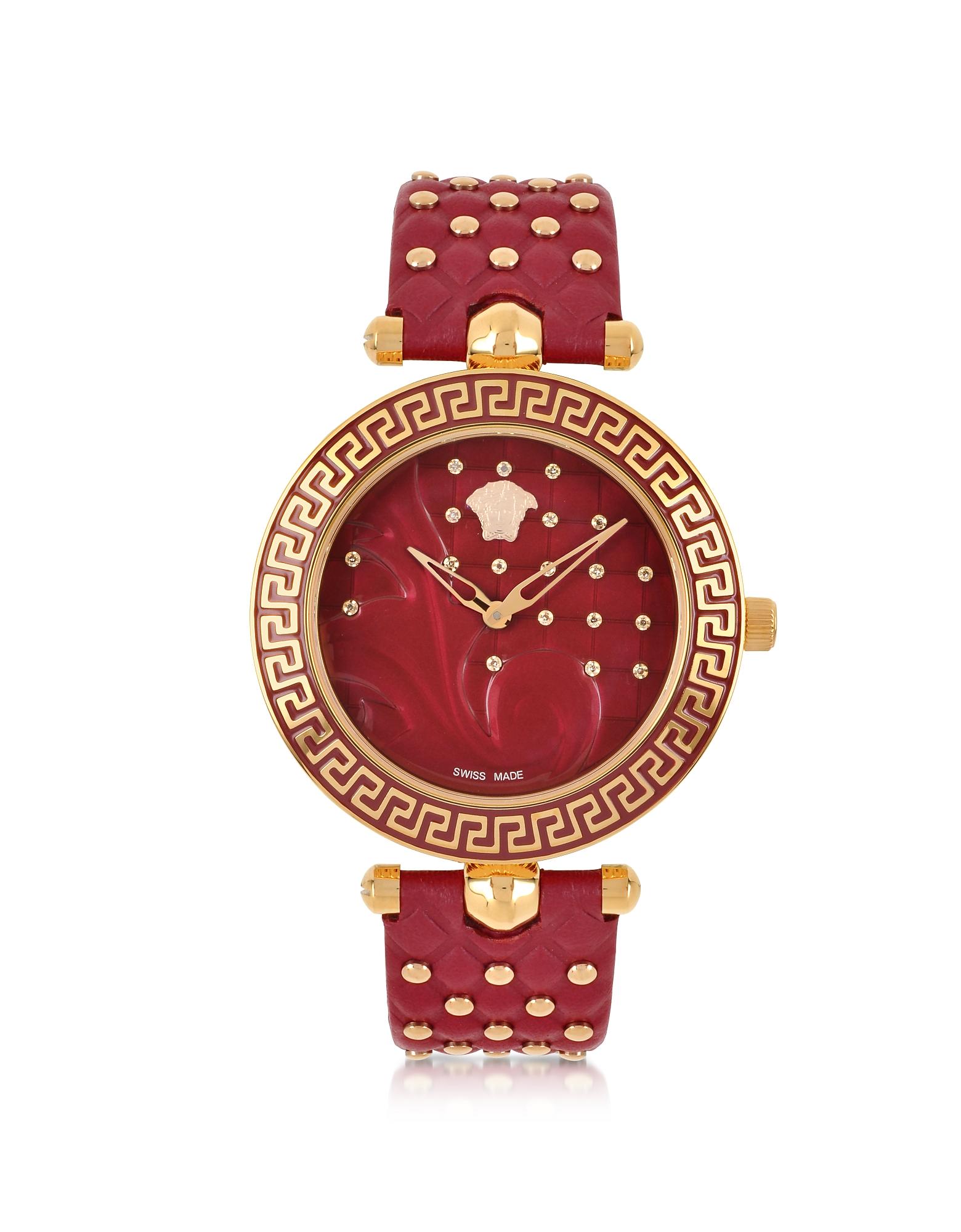 Фото Vanitas - Красные Женские Часы с Бриллиантами. Купить с доставкой