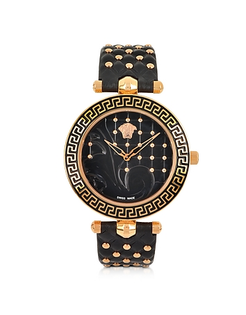 Versace - Vanitas Black Women's Watch