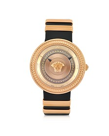 V Metal Icon Golden Women's Watch - Versace