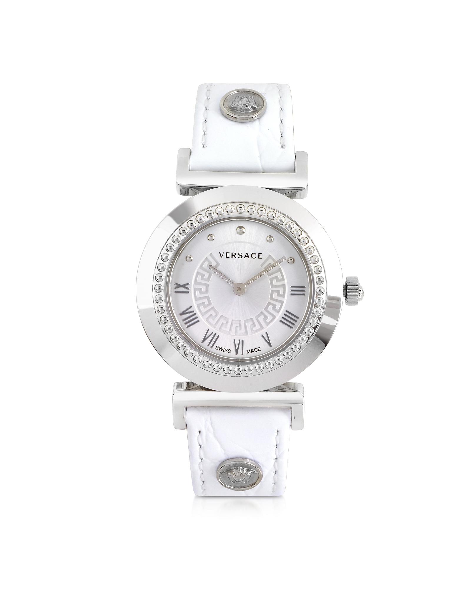 Versace Women's Watches, Vanity Lady White Women's Watch