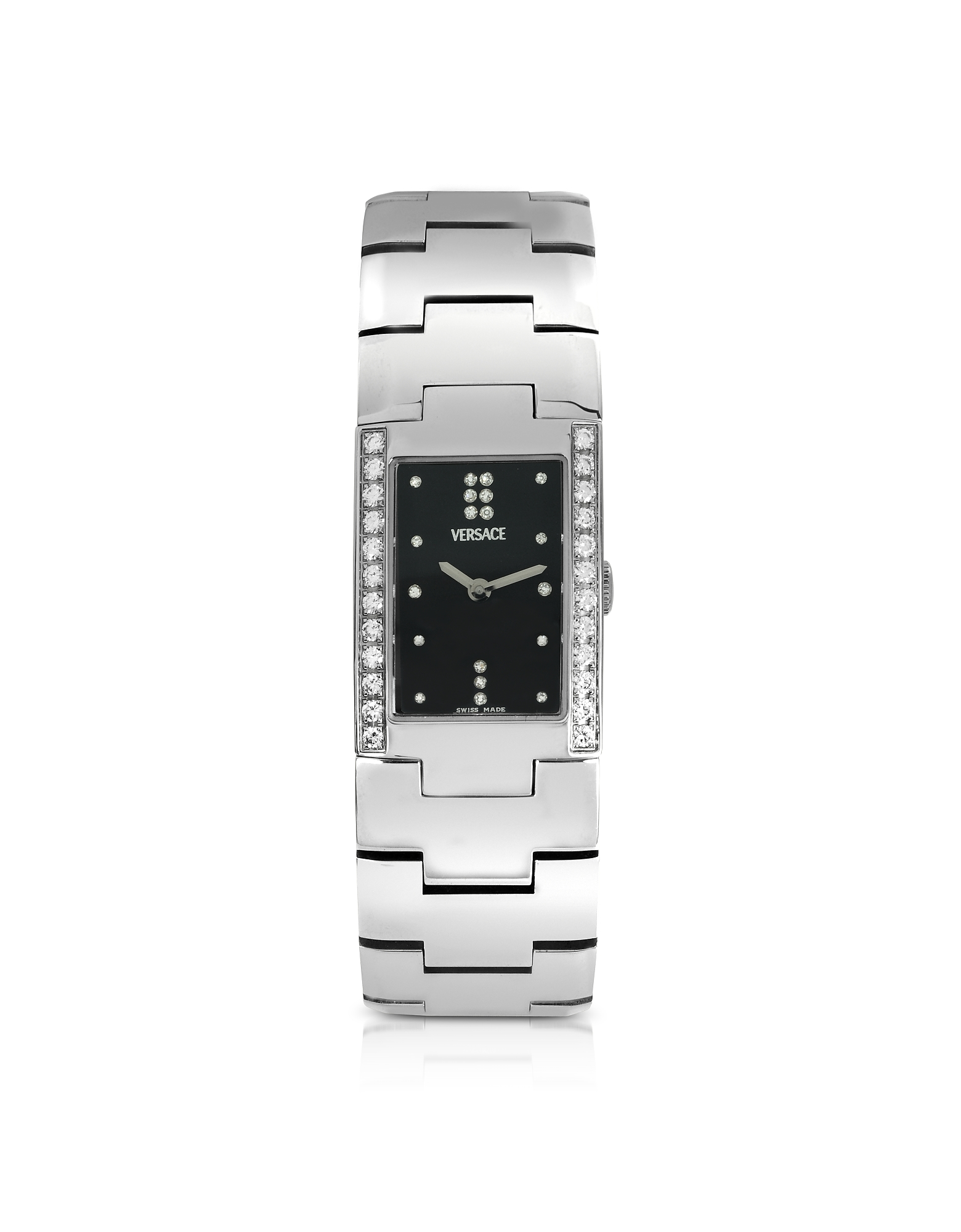 Greca - Ladies' Stainless Steel and Diamond Watch