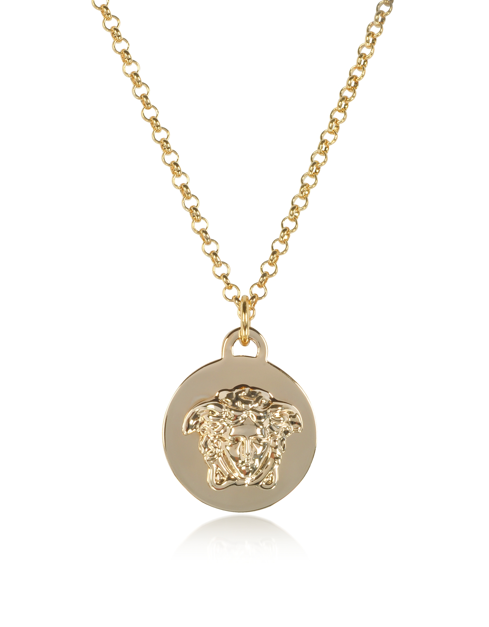 cubic shaped with oval cz medusa pendant gold simply gb medium zircones