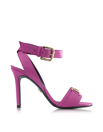 Versace - Pink Leather Sandal