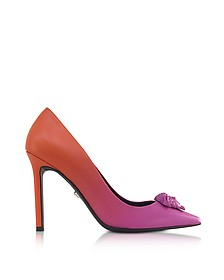 Palazzo Gradient Leather Pumps - Versace