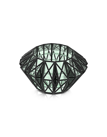 Translucent Glass Cage Cuff vu300415-002-00