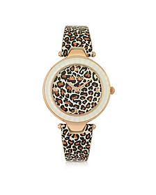 Sertie Animal Print Women's Watch - Versace Versus