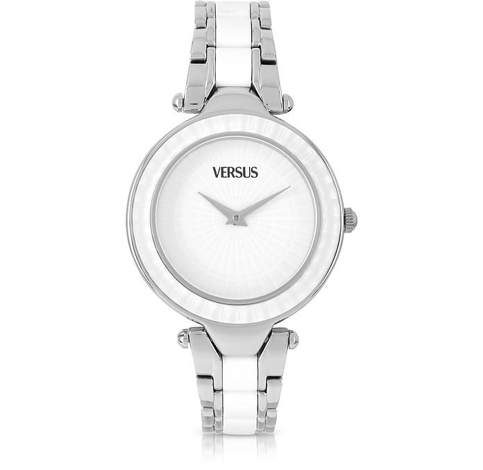 Sertie Stainless Steel and Resin Women's Watch - Versace Versus