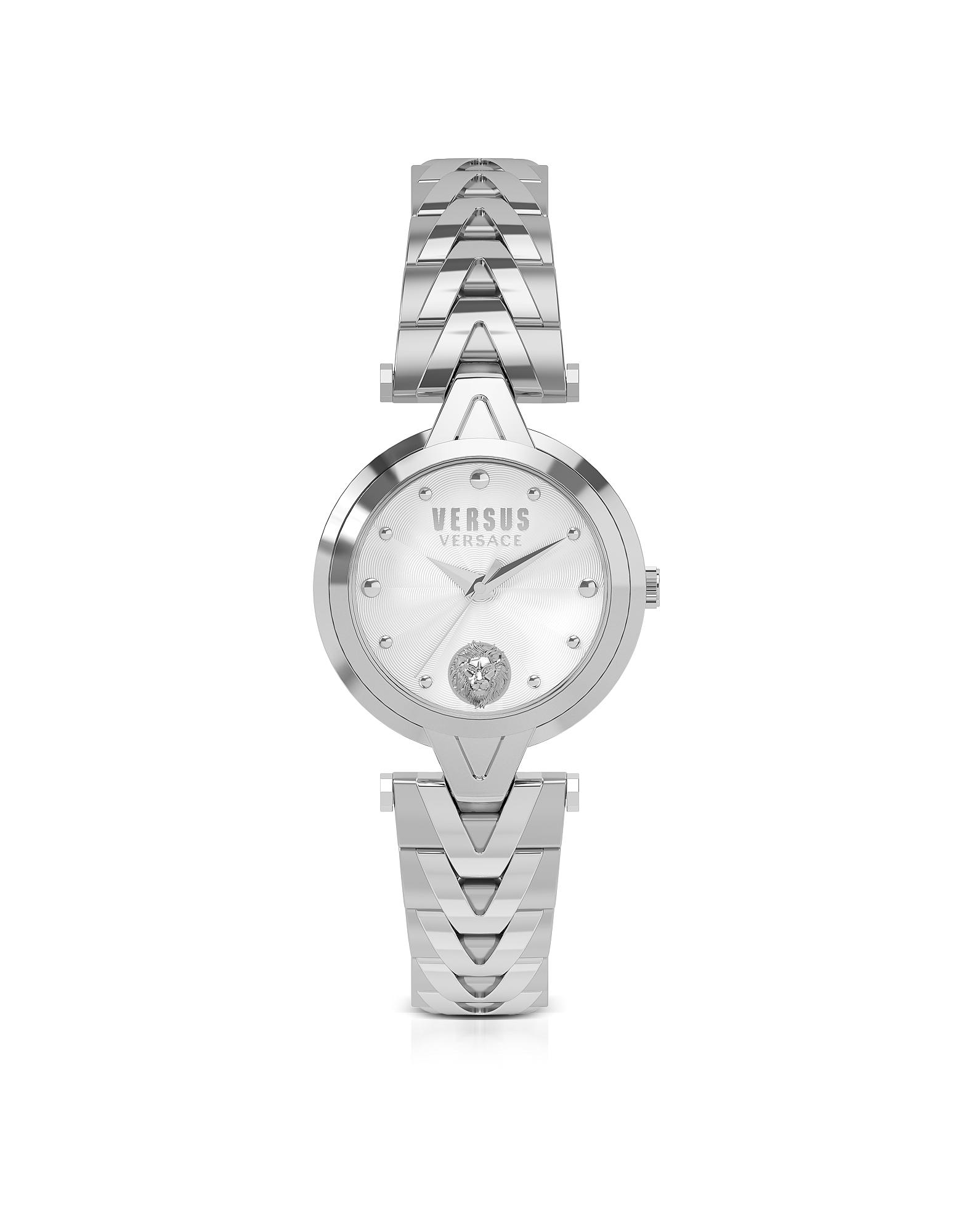 V Versus - Серебристые Женские Часы из Нержавеющей Стали с Браслетом