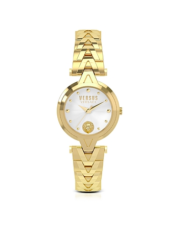 Versace Versus - V Versus Gold Tone Stainless Steel Women's Bracelet Watch