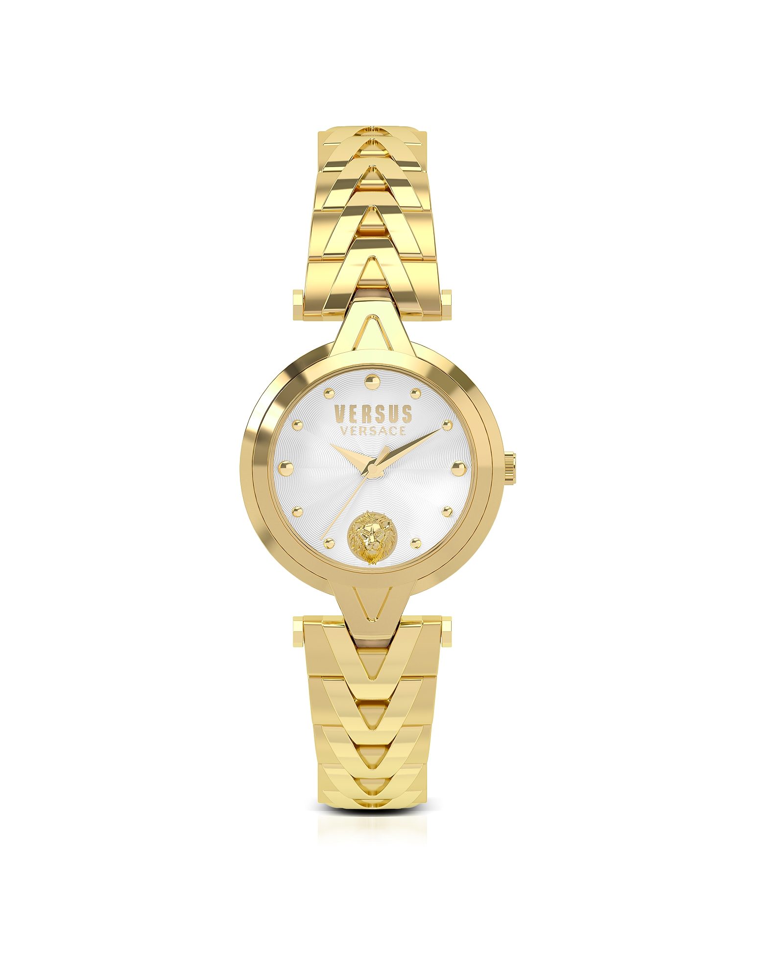 Versace Versus Women's Watches, V Versus Gold Tone Stainless Steel Women's Bracelet Watch