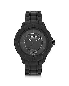 Tokyo Black Silicon Unisex Watch - Versace Versus