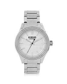 Bayside Silver Tone Stainless Steel Unisex Bracelet Watch - Versace Versus
