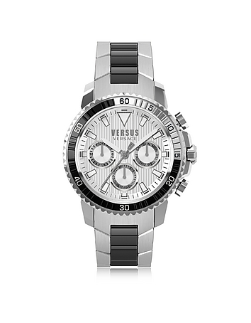 Versace Versus - Aberdeen Two Tone Stainless Steel Men's Chronograph Watch