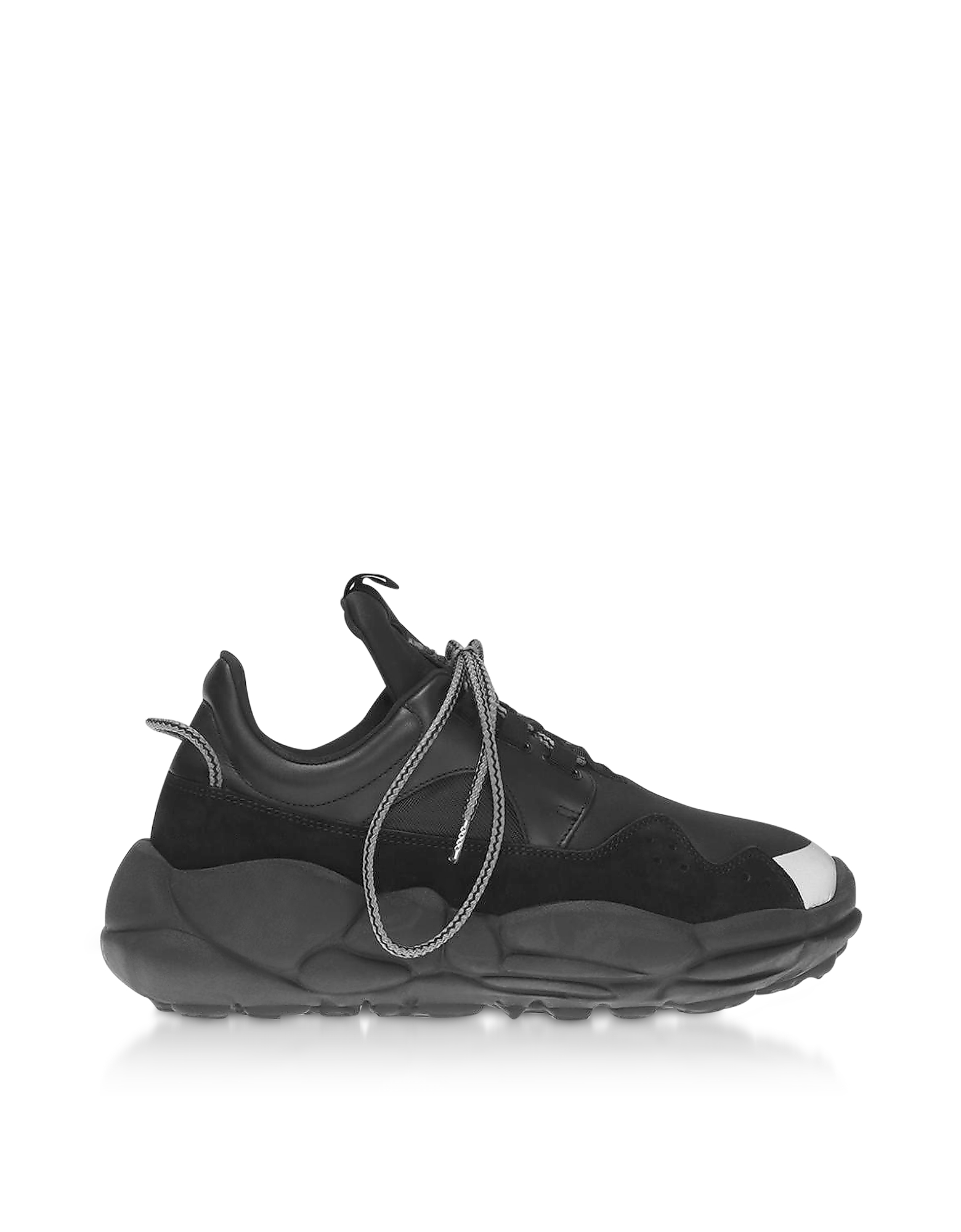 Anatomia Neoprene and Suede Runner Sneakers