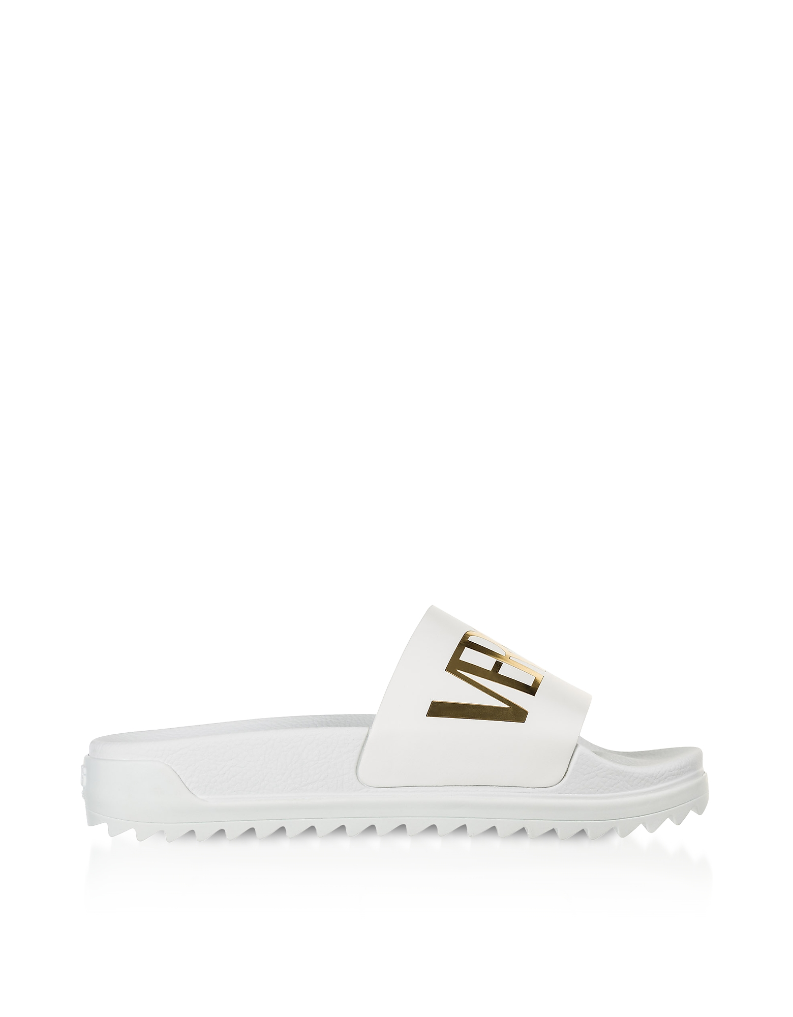 Optic White Coated Canvas Men's Pool Sandals