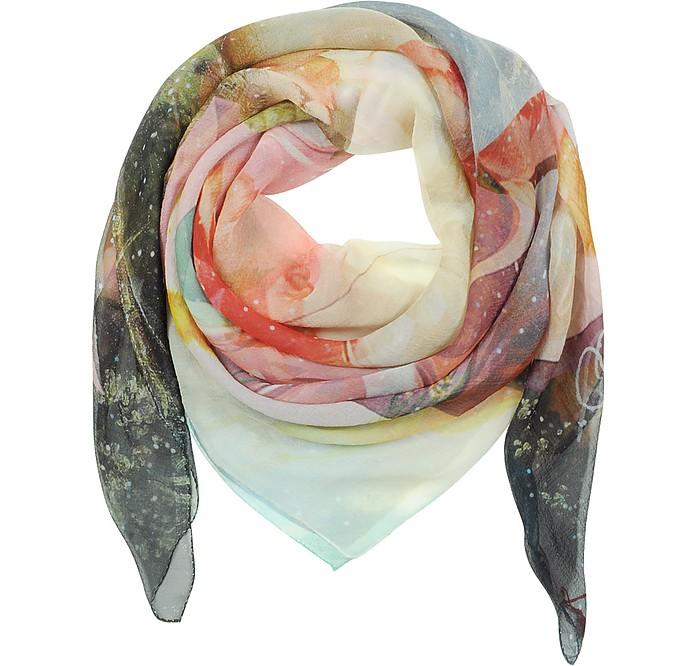 Summer Doppio Crepon Silk Wrap - Vivienne Westwood