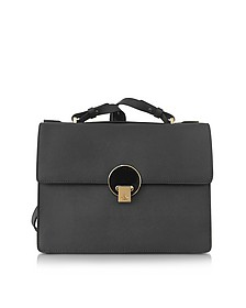 Opio Medium Saffiano Leather Shoulder Bag - Vivienne Westwood