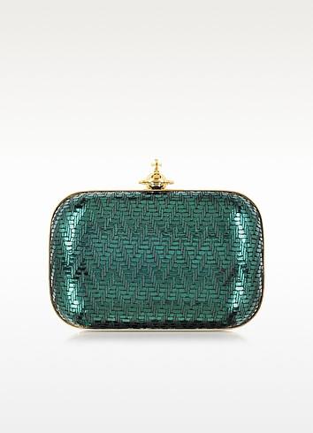 Grace Small Metallic Clutch - Vivienne Westwood