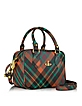 Derby Mac Henry Eco Leather Mini Satchel w/Shoulder Strap - Vivienne Westwood