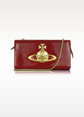 Classic - Patent Leather Clutch  - Vivienne Westwood