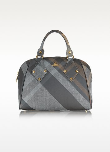 Derby Large Satchel Bag - Vivienne Westwood