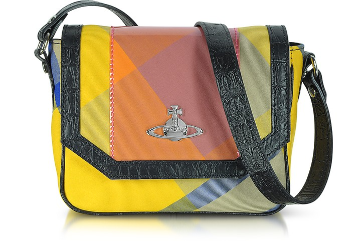 Capri Tartan Small Crossbody Bag - Vivienne Westwood