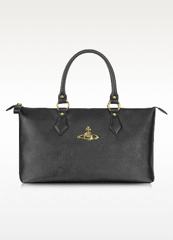 Divina Saffiano Eco Leather Tote Bag - Vivienne Westwood