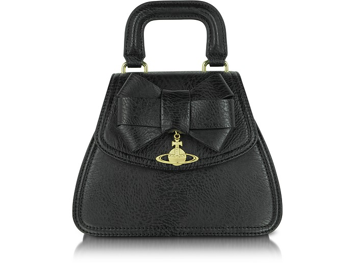 Mini Eco Leather Tote with Bow - Vivienne Westwood
