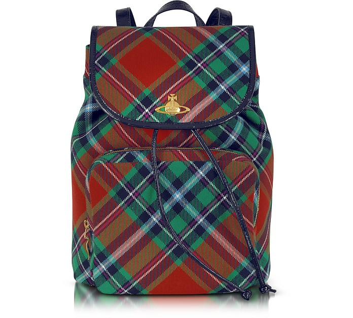 Mac Bruce Tartan Backpack - Vivienne Westwood