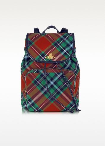 Mac Bruce Tartan Backpack - Vivienne Westwood