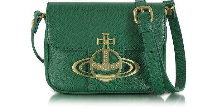 Liz Mini Flap Leather Crossbody Bag - Vivienne Westwood