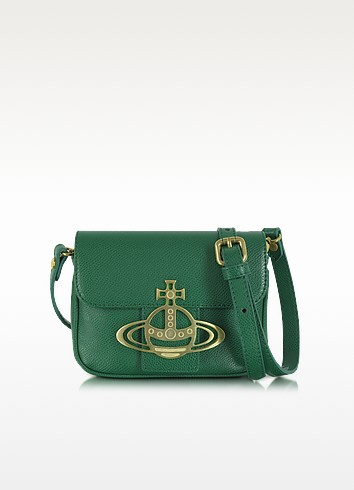 Liz Mini Flap Leather Crossbody Bag - Vivienne Westwood