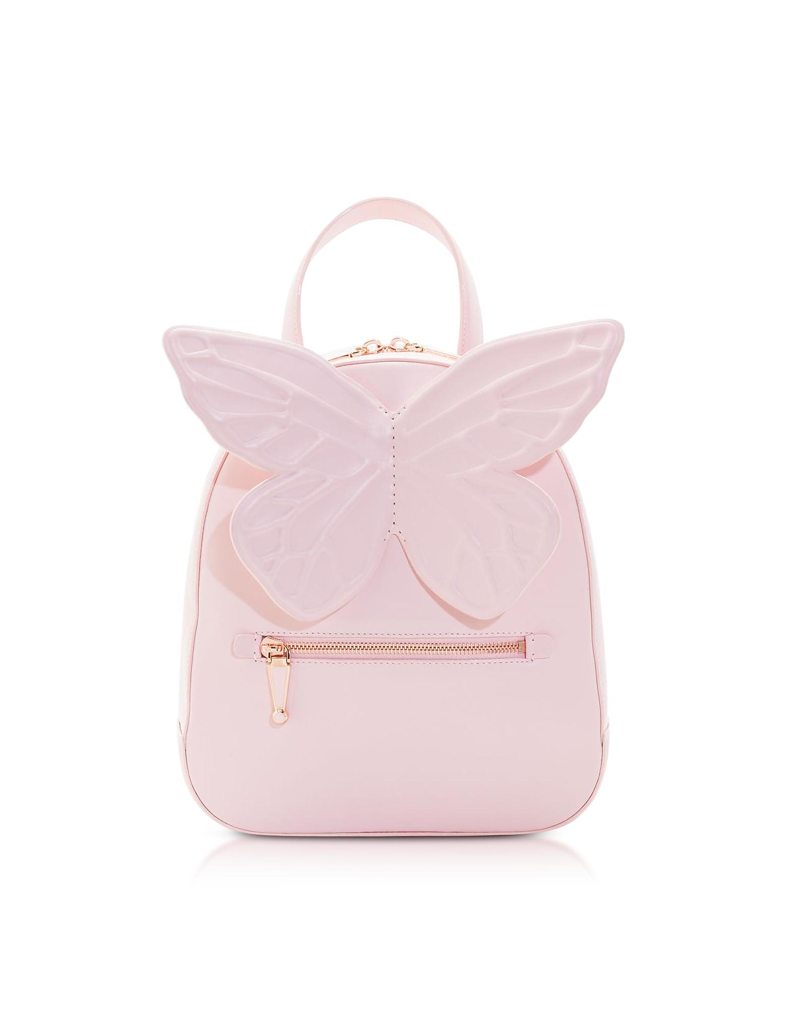 Sophia Webster Handbags, Baby Pink Kiko Butterfly Backpack