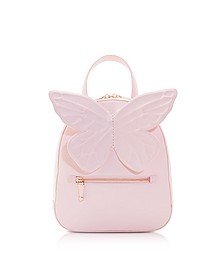 Baby Pink Kiko Butterfly Backpack - Sophia Webster