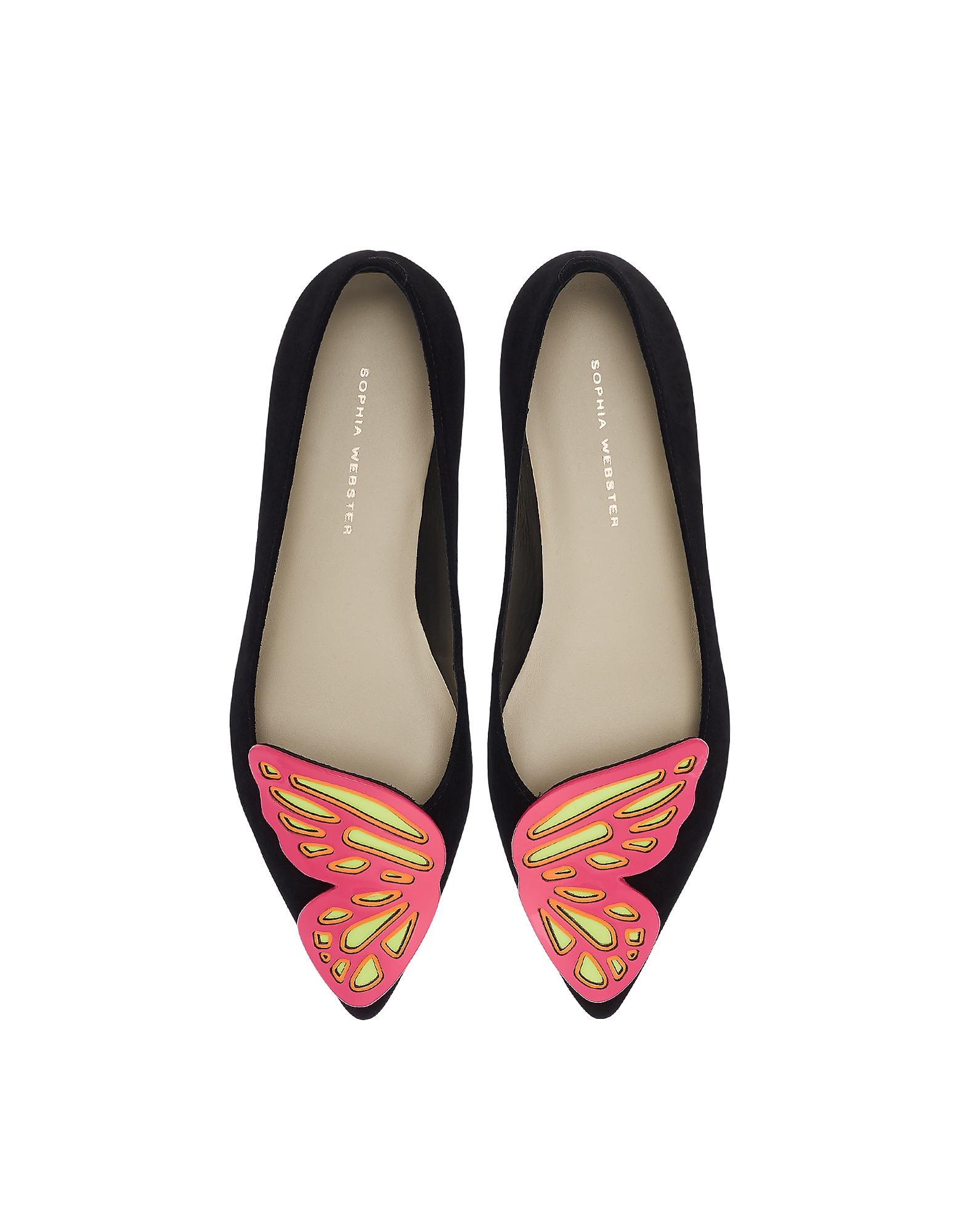Sophia Webster Designer Shoes, Bibi Butterfly Flat Ballerinas