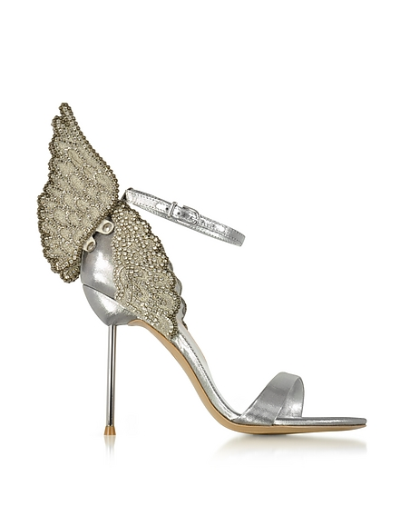 Sophia Webster Evangeline Sandals in silber