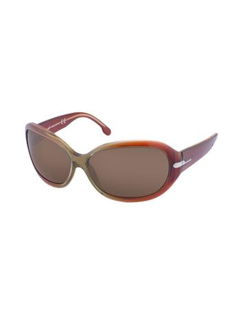 Web Class - Plastic Rounded Sunglasses
