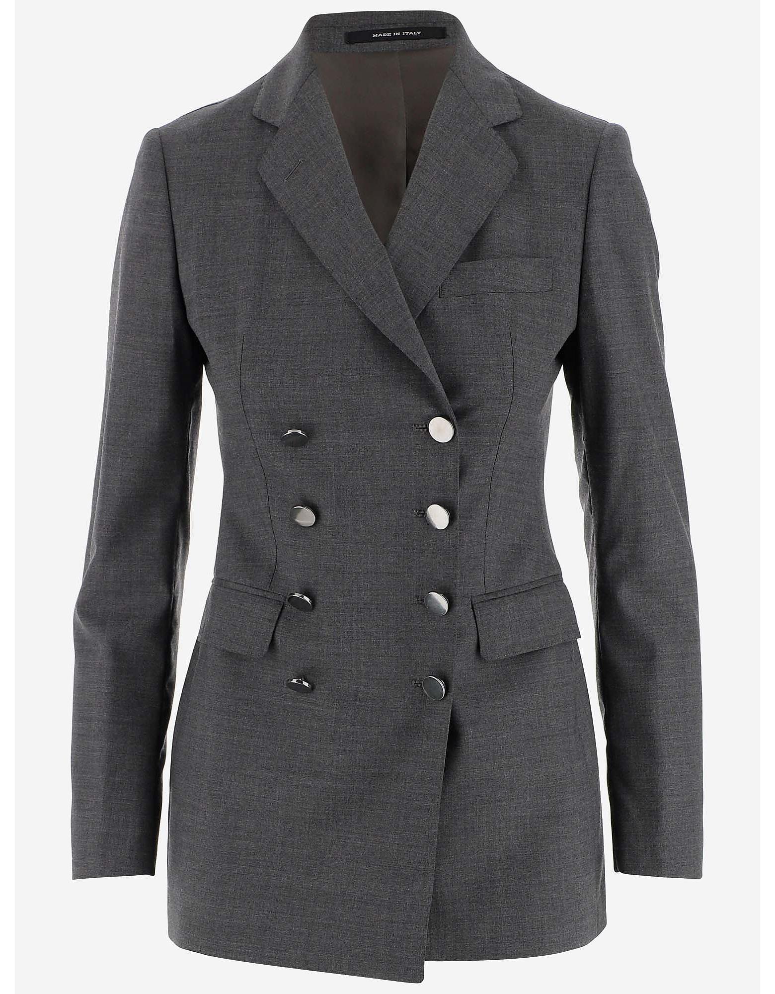Tagliatore Designer Coats & Jackets, Double-breasted Women's Blazer