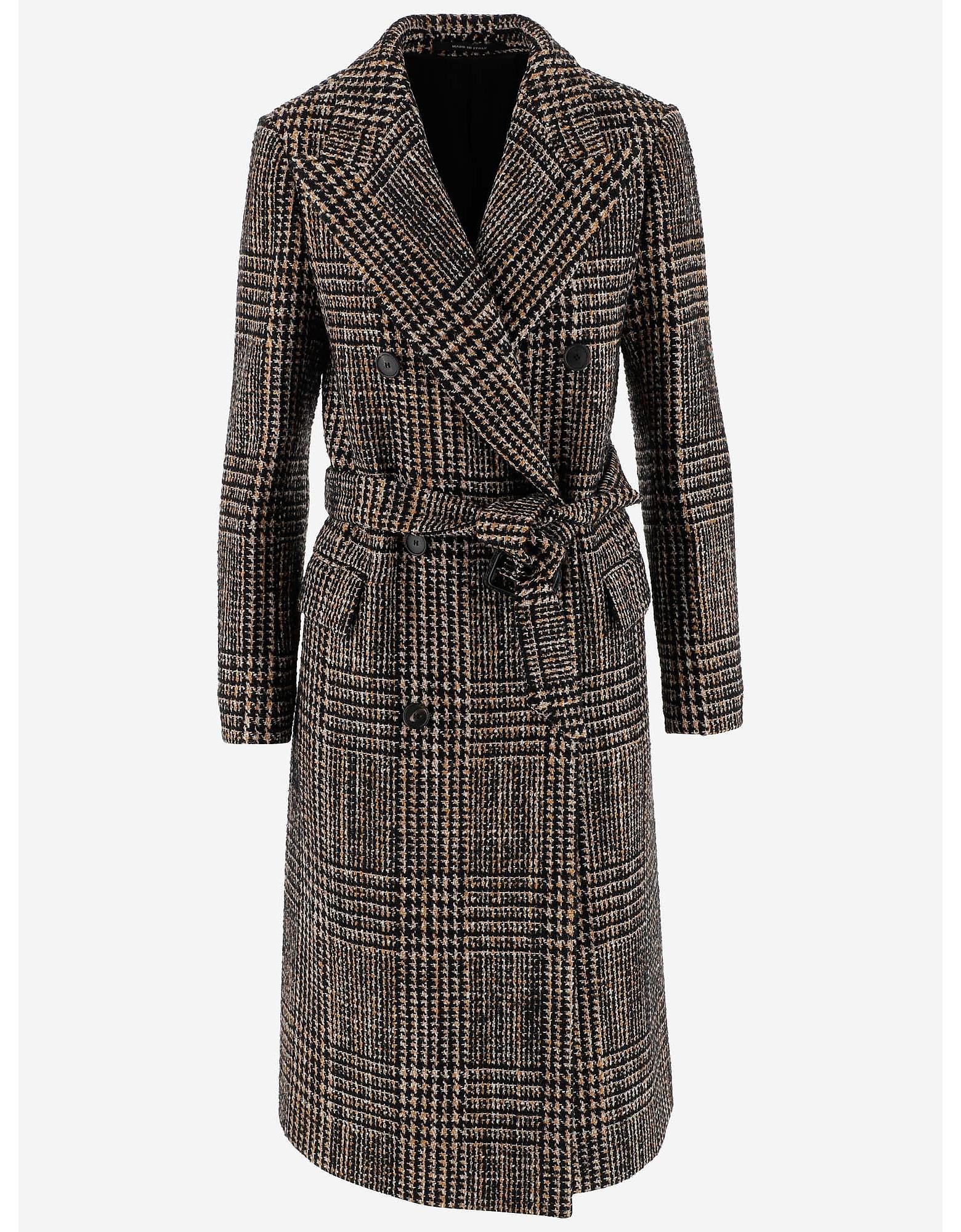 50s Men's Jackets   Greaser Jackets, Leather, Bomber, Gabardine Tagliatore Designer Coats  Jackets Wool Belted Womens Long Coat $575.25 AT vintagedancer.com