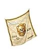 Moschino Credit Card & Terry Bear Print Twill Silk Square Scarf - Moschino