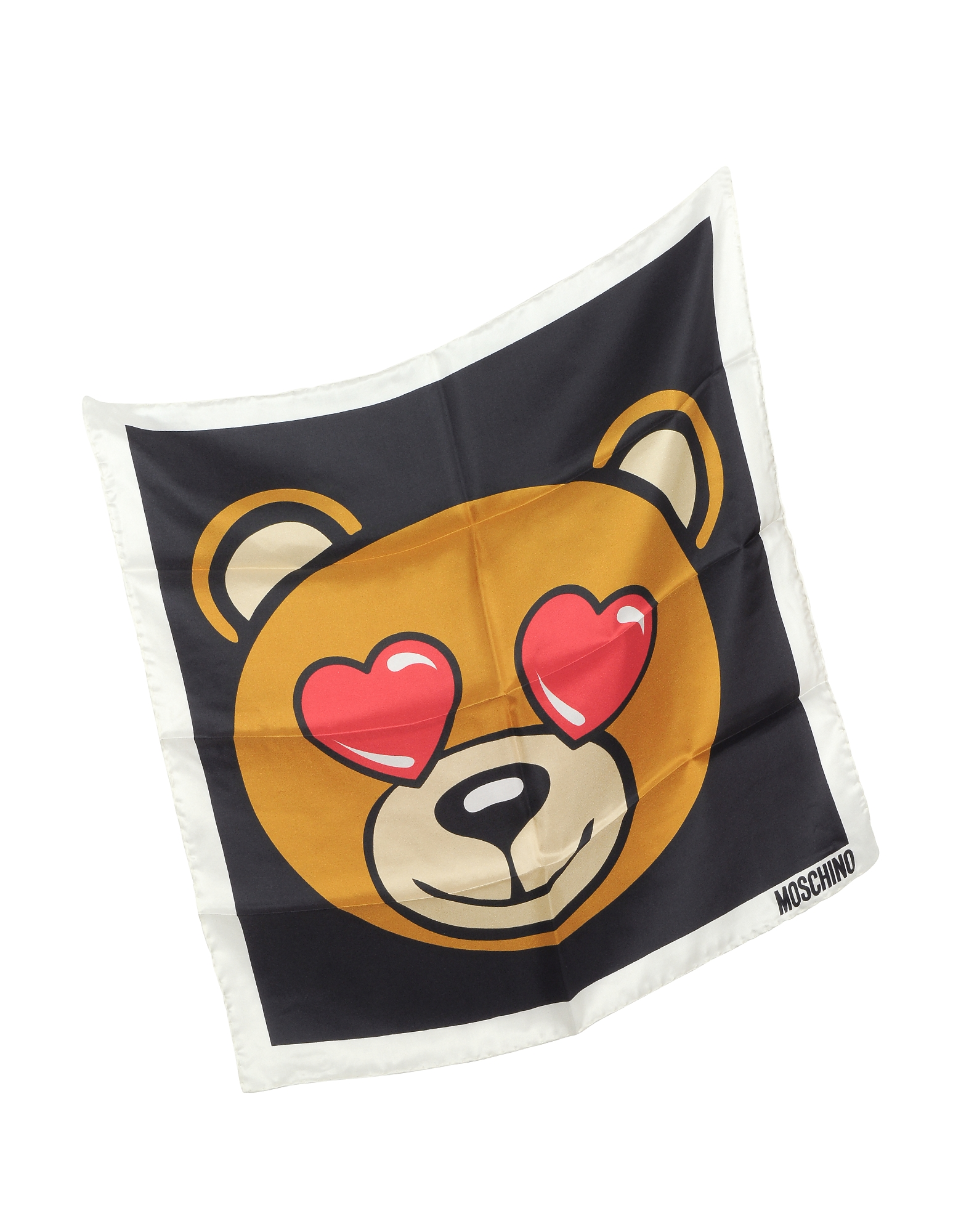 Teddy Printed Silk Bandana от Forzieri.com INT