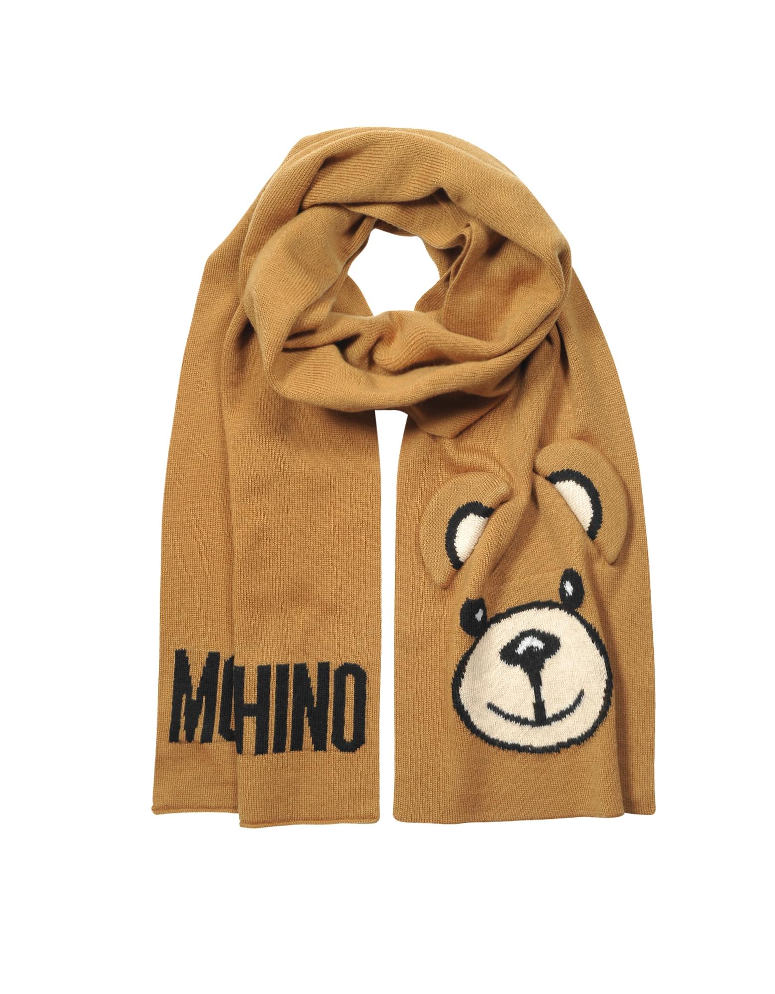 Moschino Teddy Bear Ears Scarf