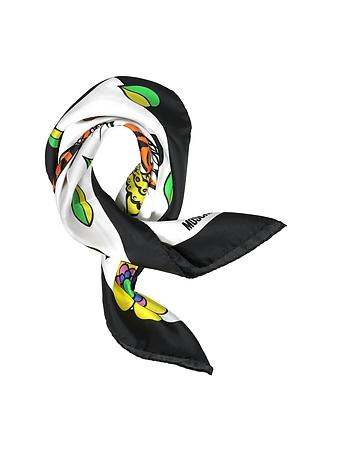 Eşarfă de damă MOSCHINO Crowned