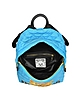 Teddy Bear Blue Quilted Nylon Backpack - Moschino