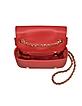 Red Biker Jacket Shoulder Bag - Moschino