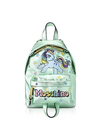 My Little Pony Laminated Leather Backpack