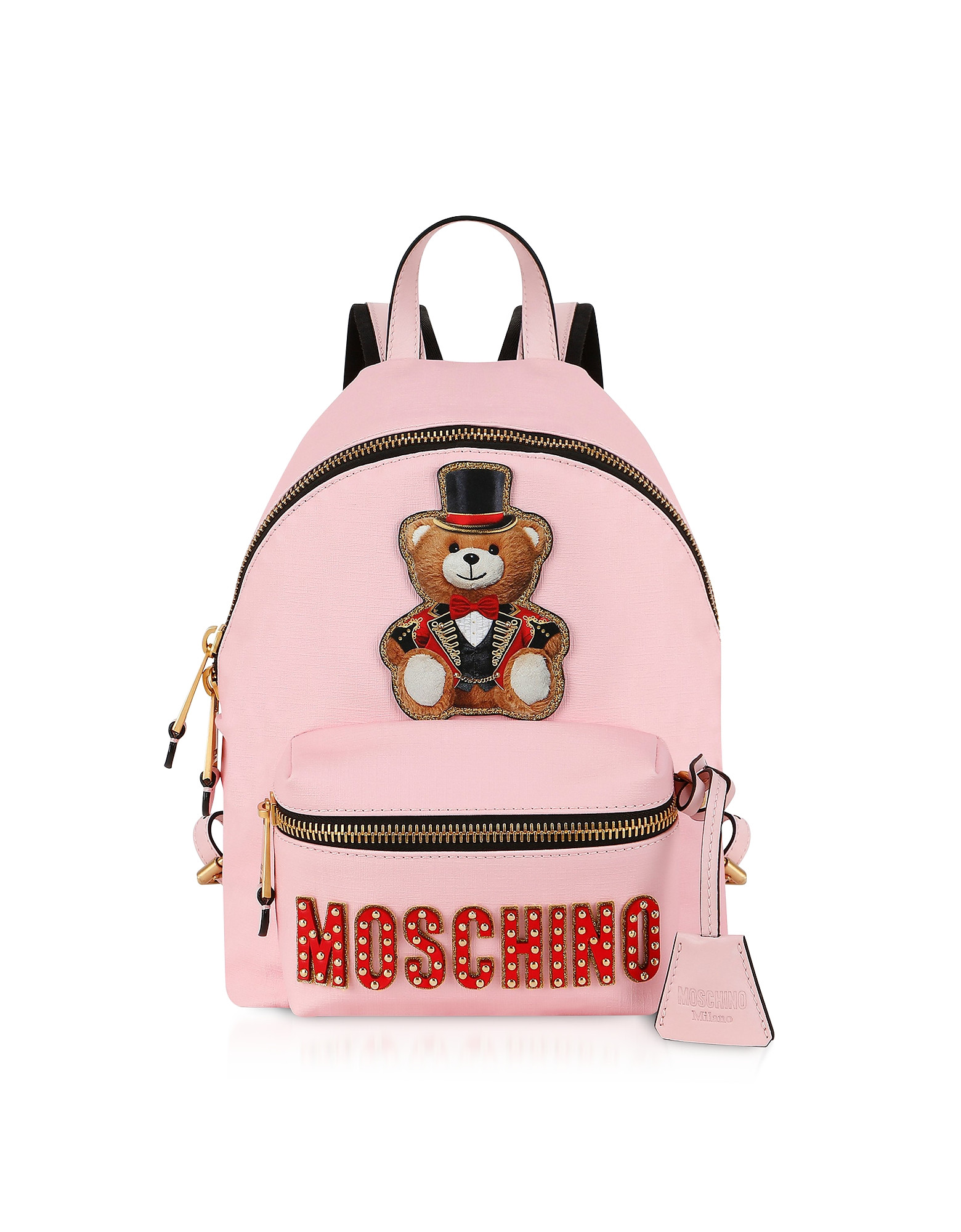 Teddy Bear Circus Patch Pink Backpack