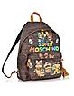 Super Mario Multicolor Printed Backpack - Moschino