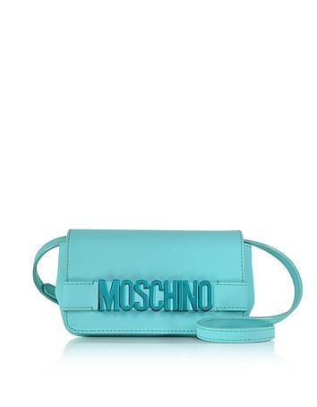 Moschino - Signature Leather Mini Crossbody Bag